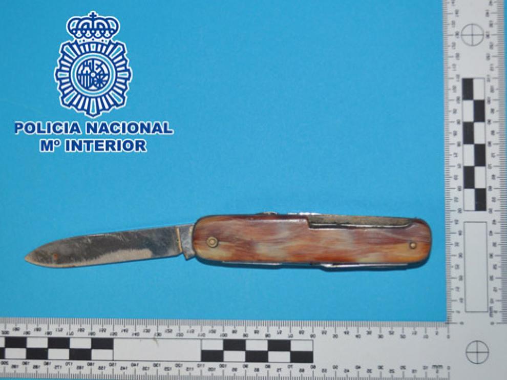 Foto distribuida por la Policía Nacional