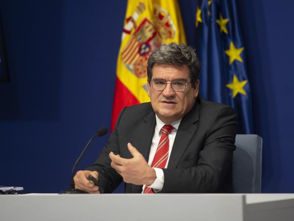 José Luis Escrivá, ministro de Inclusión y Seguridad Social.