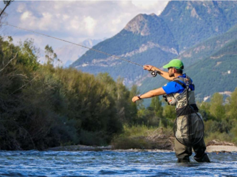 """Fishing in Aragón"""