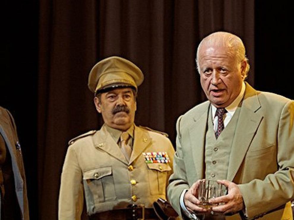 Juan Echanove protagoniza la obra dirigida por Carlos Saura.
