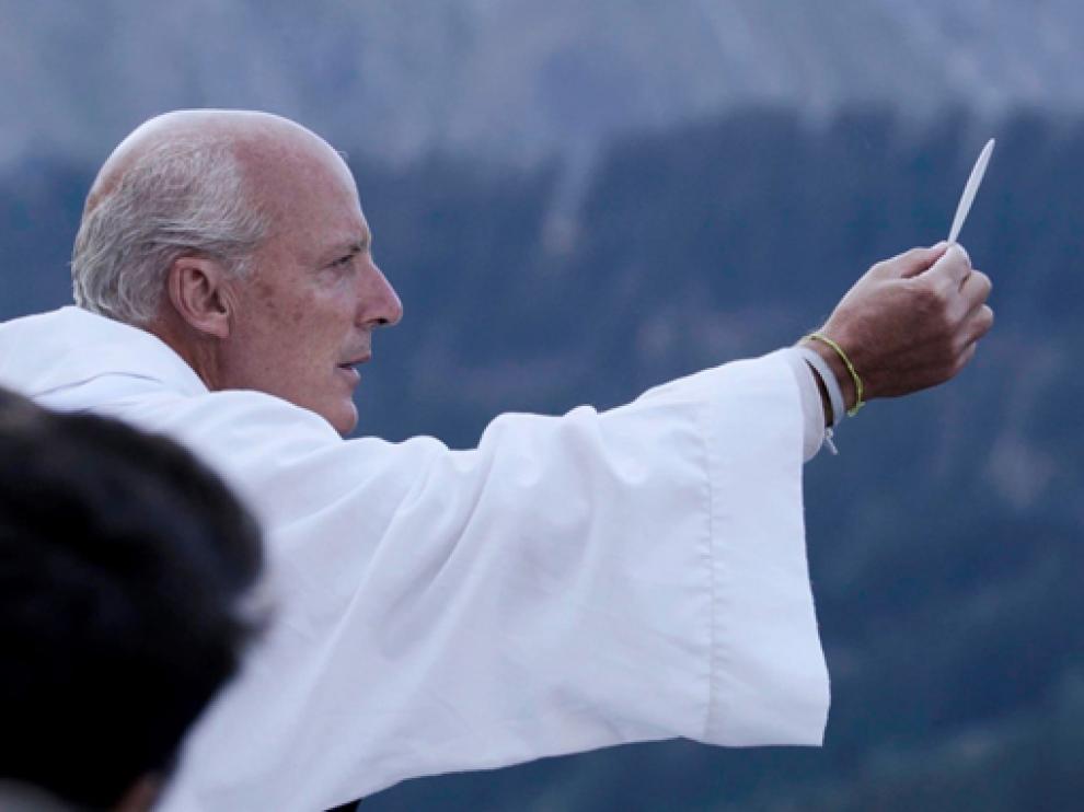 Fotograma del documental de temática religiosa Vivo.