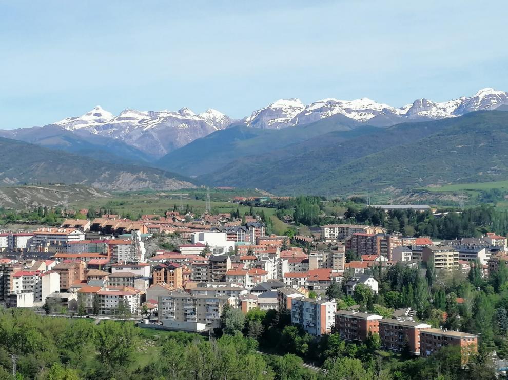 Vista de Sabiñánigo