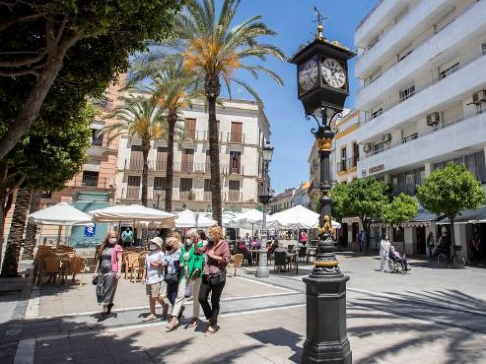 El primer reloj farola de España data de 1853 y se encuentra en Jerez de la Frontera