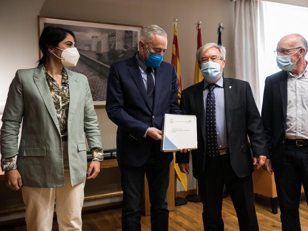 Justicia de Aragón Ángel Dolado y Javier Sada