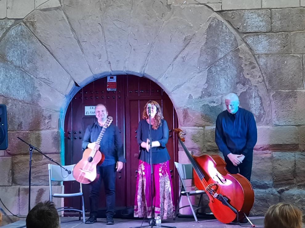 Maurizio Di Fulvio Trío inauguró en Torres del Obispo el Festiva Jazz'n Graus.
