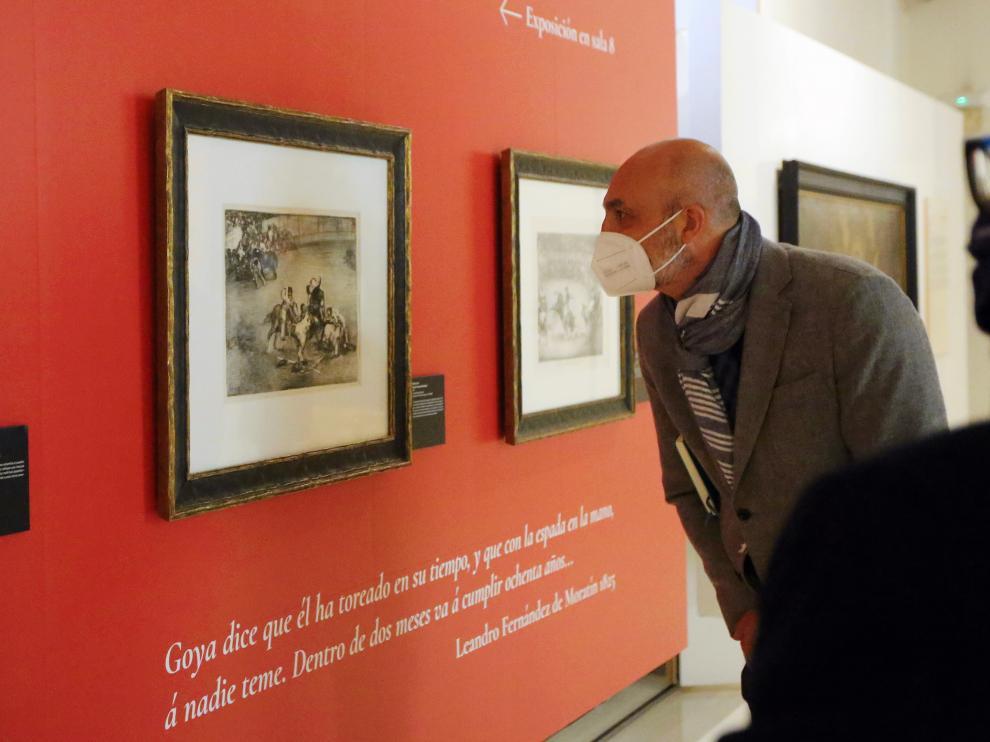 El Museo de Huesca acoge la exposición Ramón Acín y Goya. Dos artistas más allá de su tiempo.
