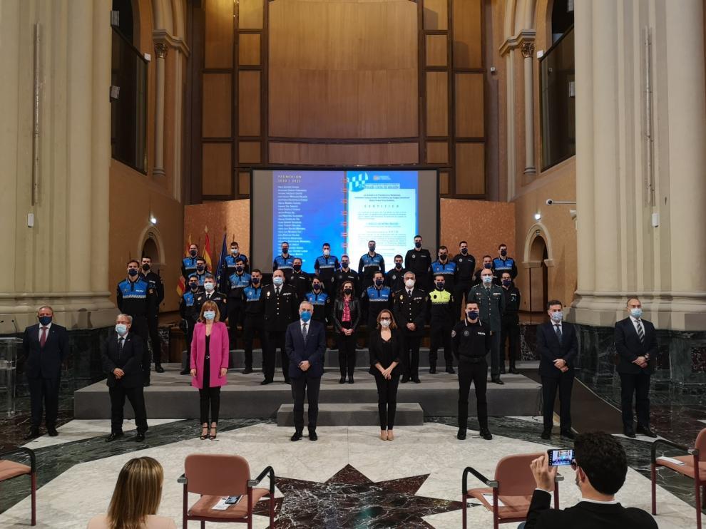 Clausura del XXIV Curso de Formación para Ingreso como Funcionario de Carrera en los cuerpos de Policía Local.