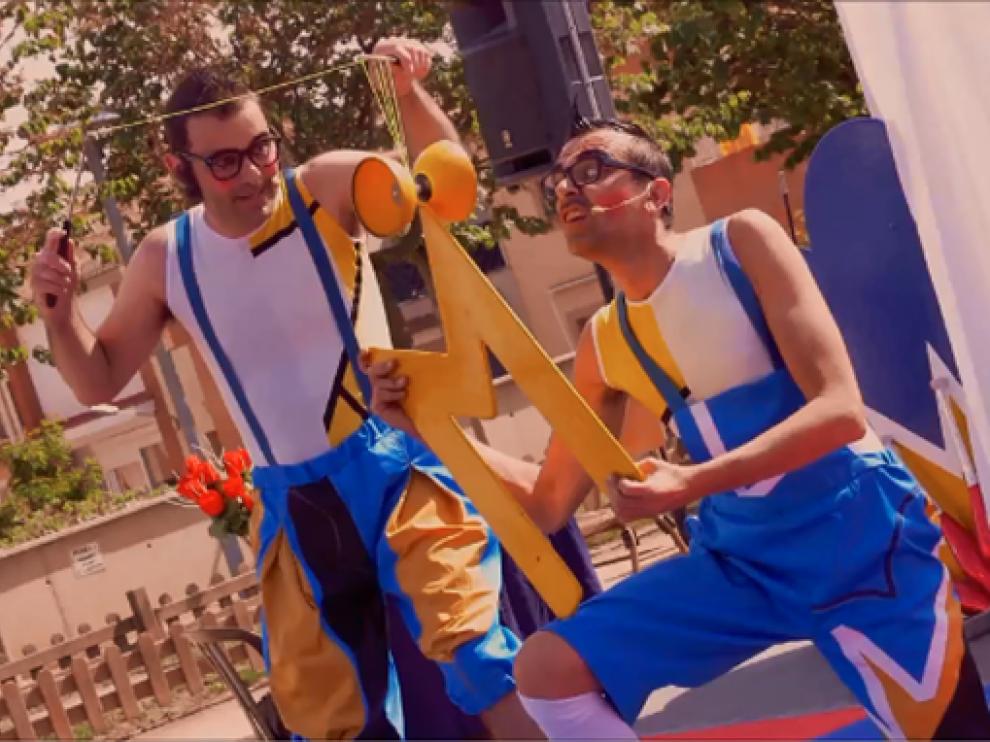Imagen del espectáculo ¡Cataplúm!, de Circo La Raspa.