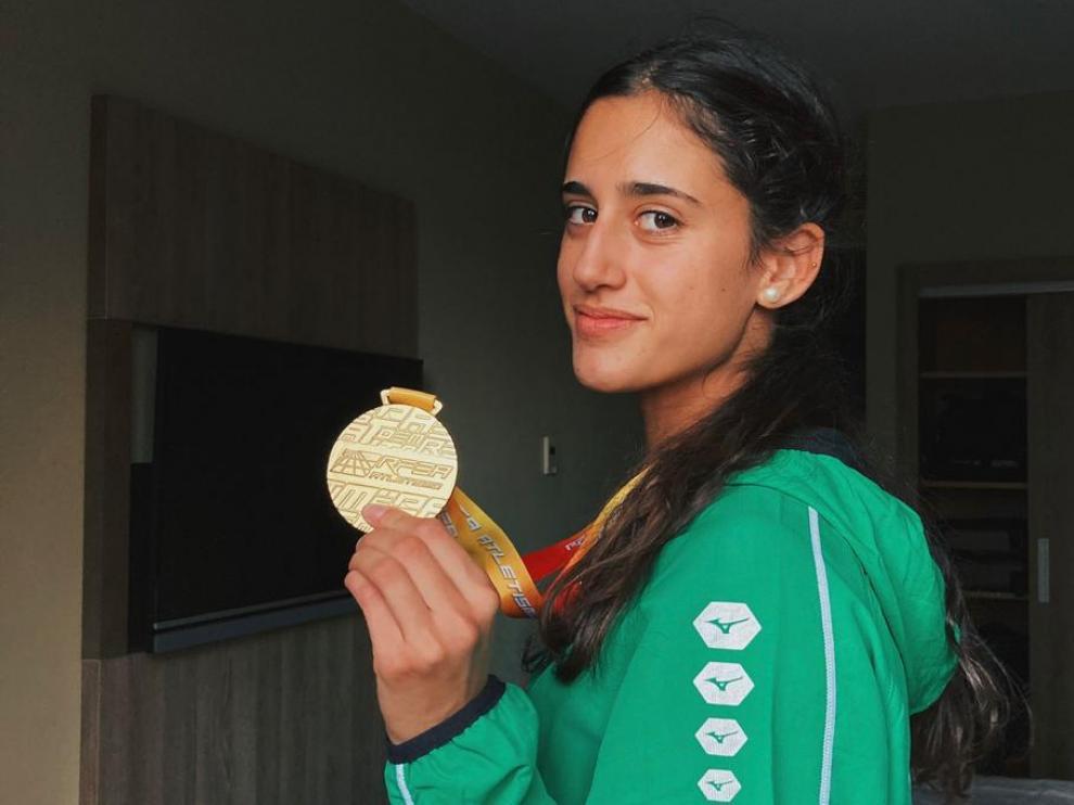 Teresa Santolaria, Mención Honorífica del CSD en los Premios Nacionales del Deporte en Edad Escolar.