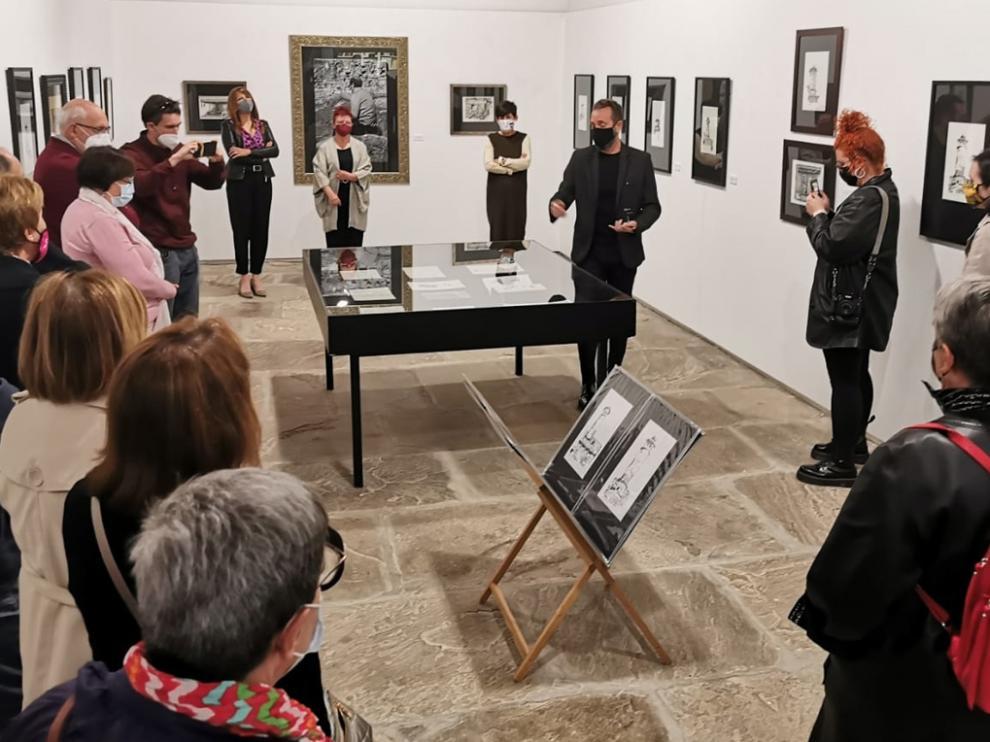 La exposición Fuegos se inauguró ayer en el Museo de Dibujo