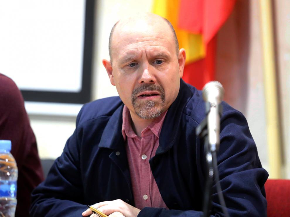 Manuel Pina Secretario, general de CCOO Aragón