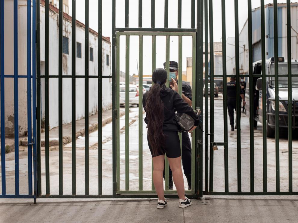Polígono industrial para menores marroquíes en Ceuta