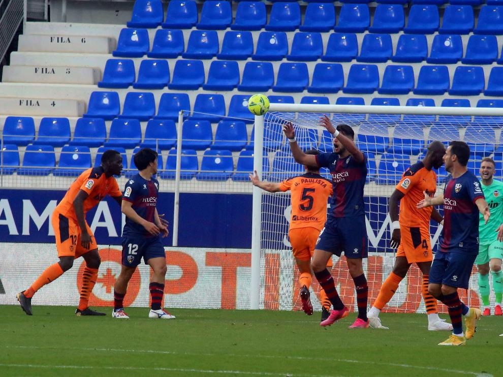 sd Huesca 0 valencia 0 descenso del Huesca 22 - 5 - 21 foto pablo segura[[[DDA FOTOGRAFOS]]]