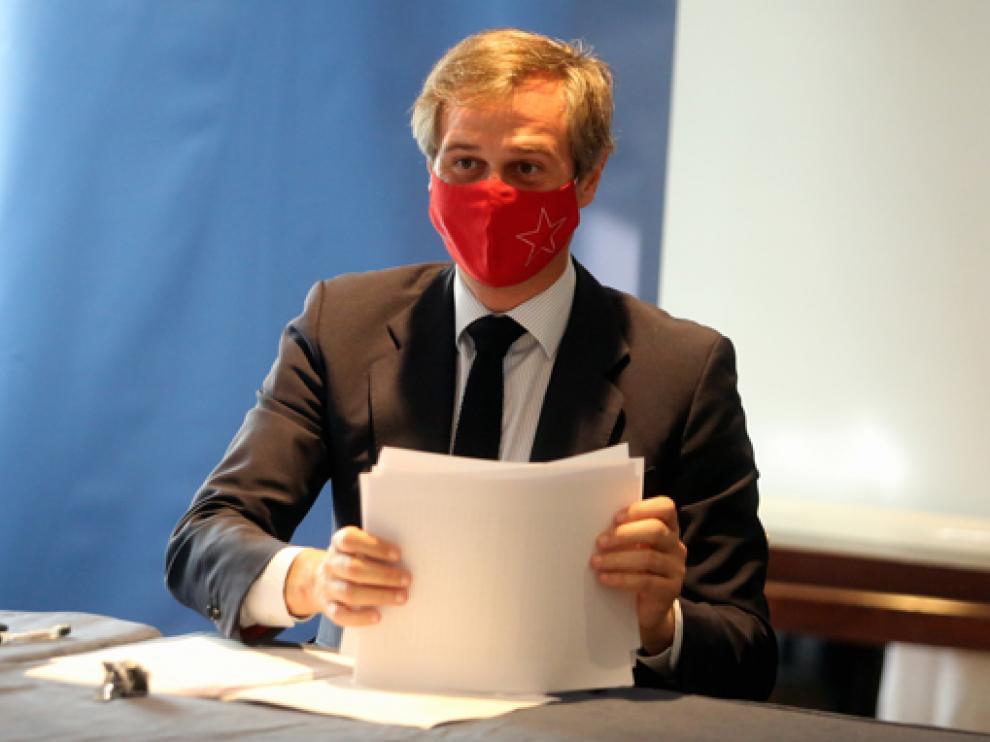González Terol, vicesecretario de Política Territorial del PP, conoció en persona las demandas del partido en la provincia.