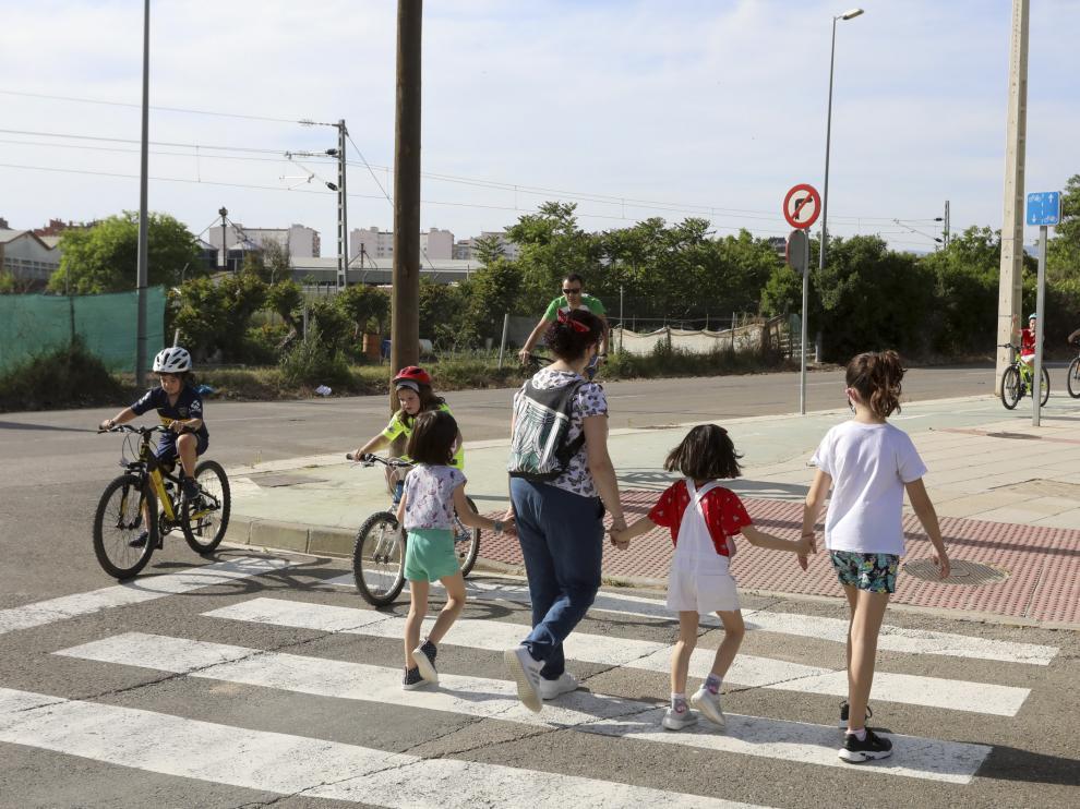 Tras el confinamiento, los niños fueron los primeros en poder salir a la calle.