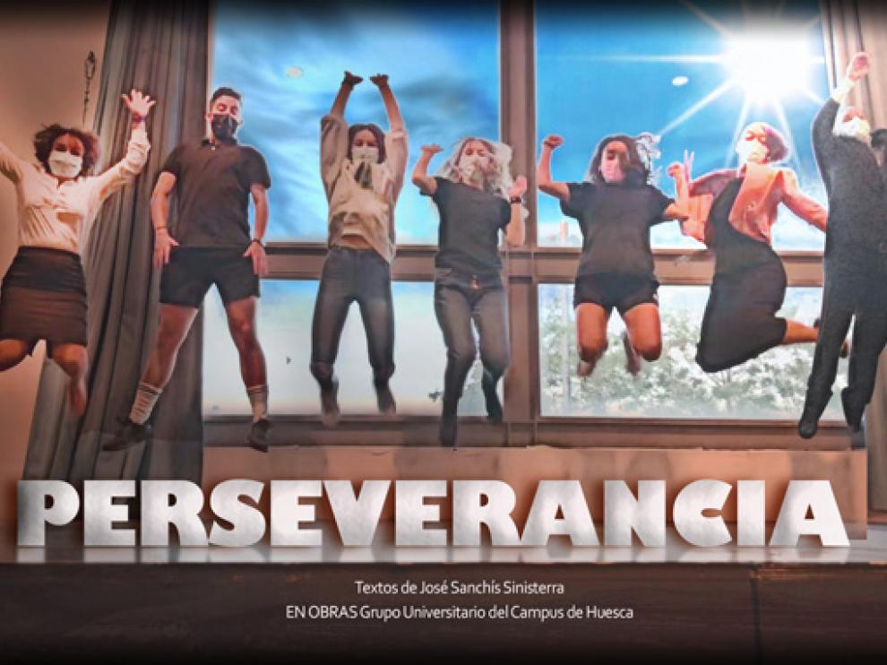 Cartel de la obra 'Perseverancia'