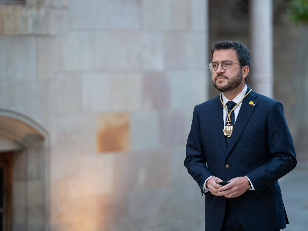 Pere Aragonès, nuevo presidente de la Generalitat