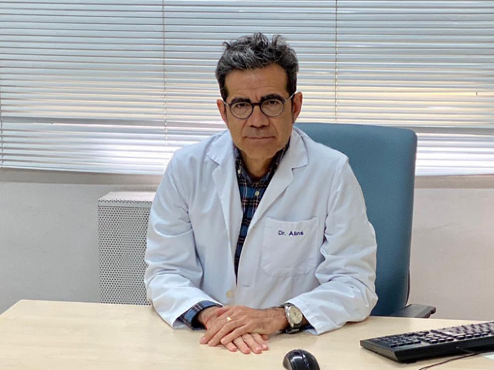 Ignacio Alins, cardiólogo del hospital Viamed Santiago.