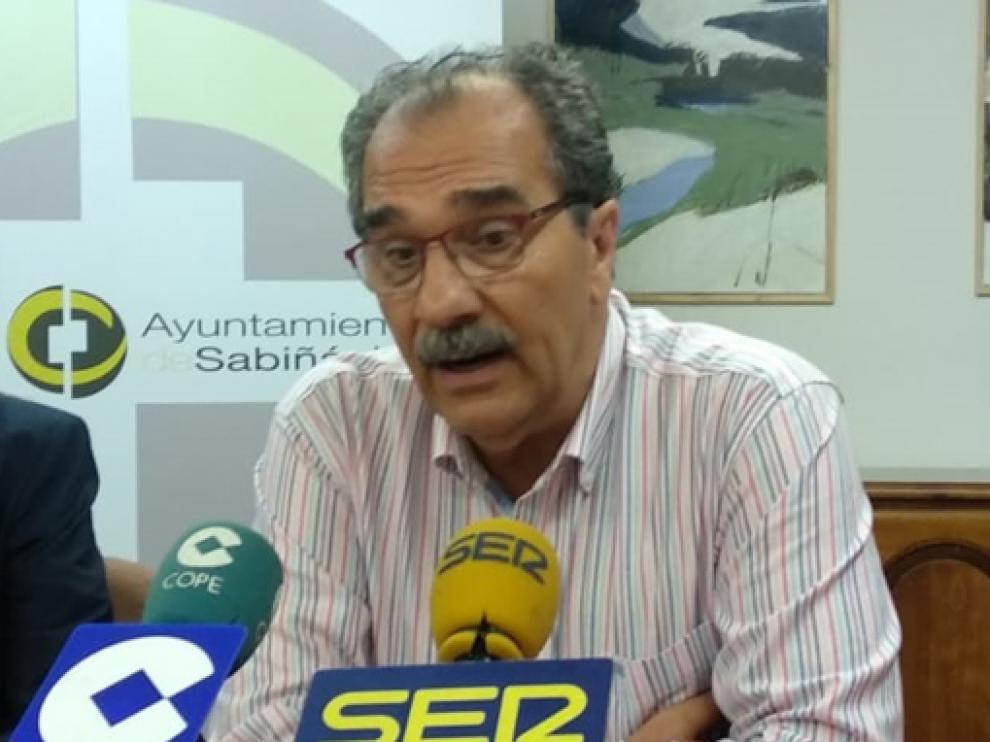 José Luis Bandrés y su junta dejarán el Sabiñánigo tras doce años en el club.