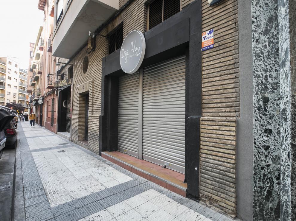 La pelea se produjo tras salir de un bar de la calle Eduardo Dato de Zaragoza.