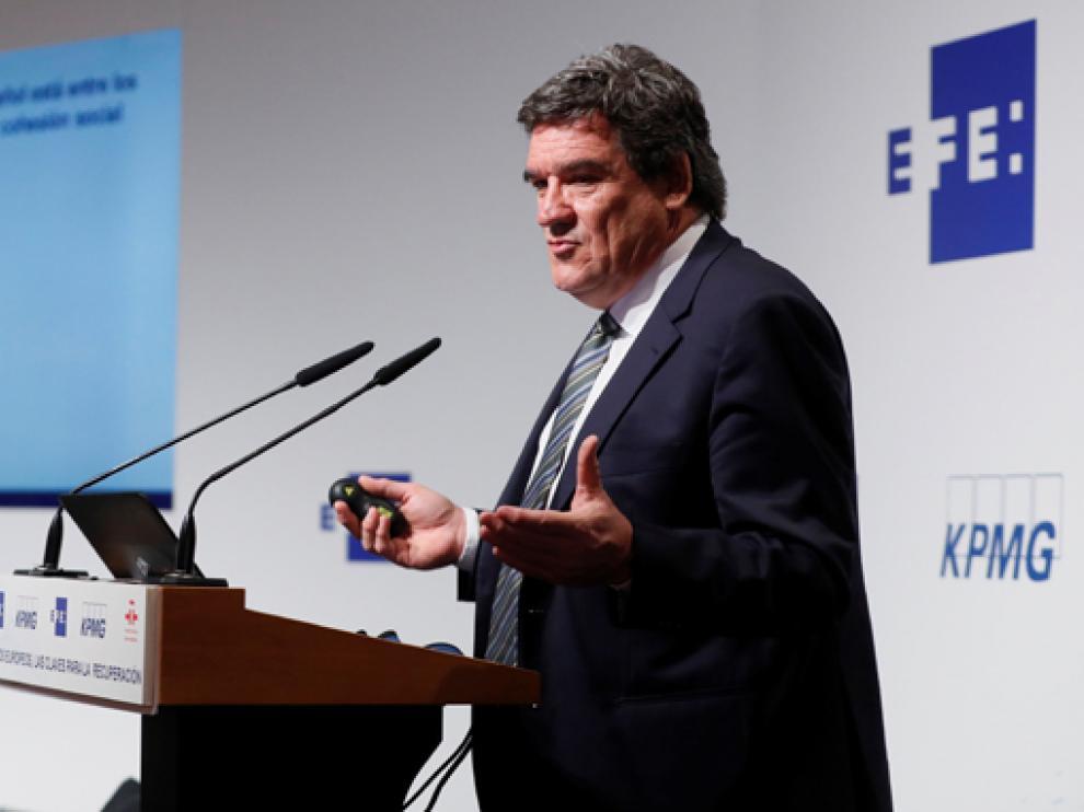"""El ministro Escrivá participó este miércoles en el Foro """"El reto de la transformación social sostenible"""""""