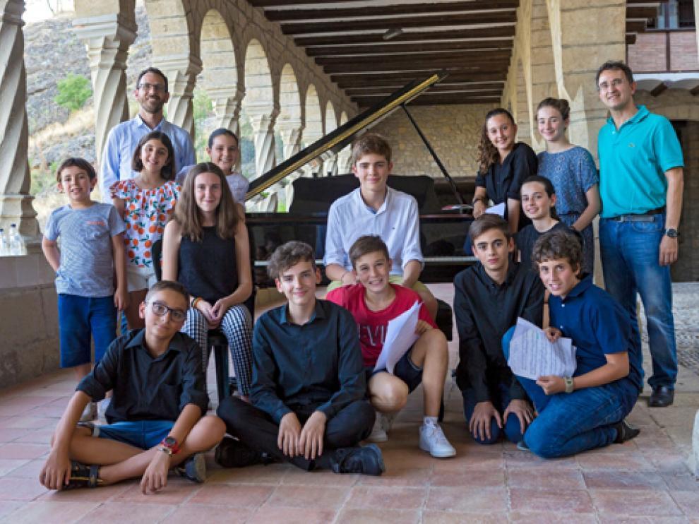 Imagen de alguna edición anterior de la Academia Musical de Verano de Graus.