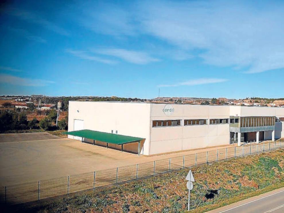 Instalaciones de la empresa Cardil, situada en la localidad de Esplús.