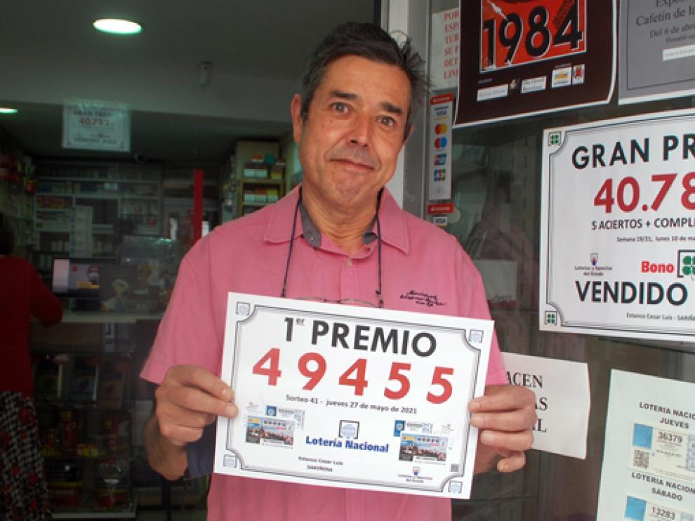 César Luis Vázquez, en su administración de Sariñena