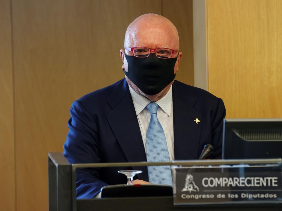 El comisario José Manuel Villarejo declara en el juicio.