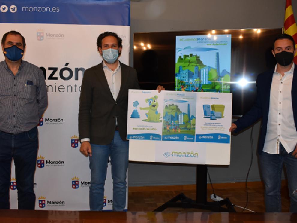 Presentación de la campaña este viernes en Monzón