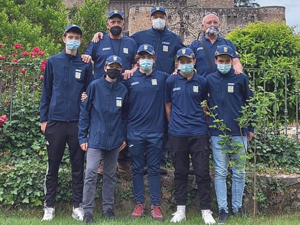 Selección aragonesa en el Campeonato de España Mosca Juventud.