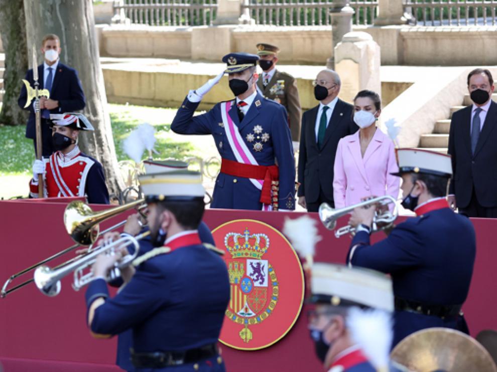 Los Reyes han presidido el desfile del Día de las Fuerzas Armadas