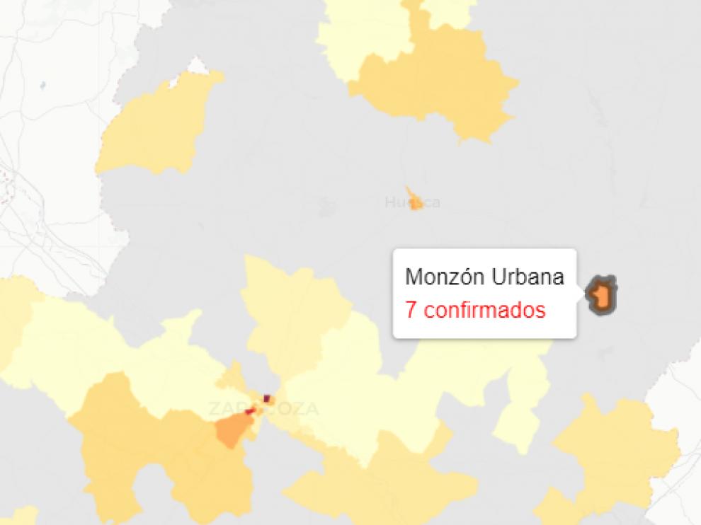 Las zonas sanitarias de la ciudad de Huesca reflejan este sábado 11 nuevos contagios de covid-19