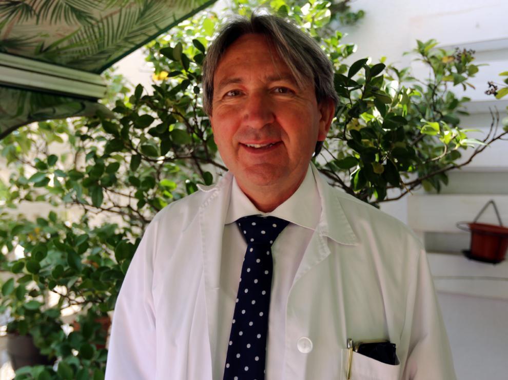 Santiago Cosculluela, presidente de Arade y director de la Residencia Avenida de Huesca.