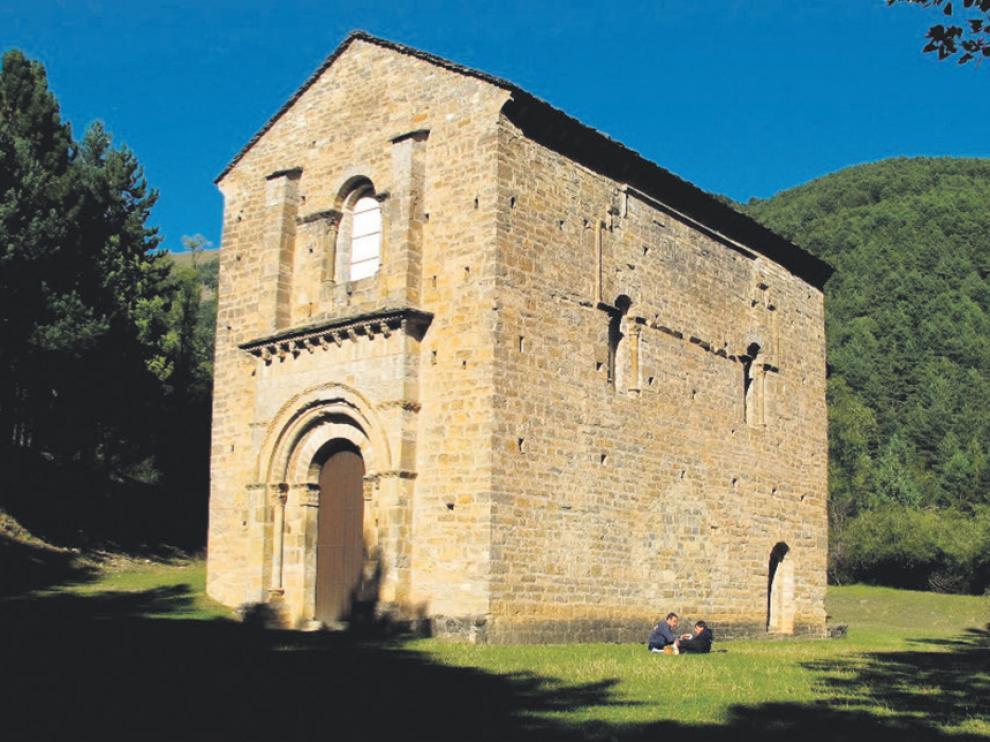 Ermita de Santa María de Iguácel.