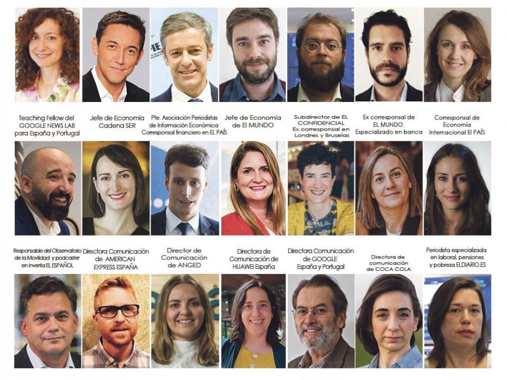 Ponentes del Curso de Comunicación de Alcañiz.
