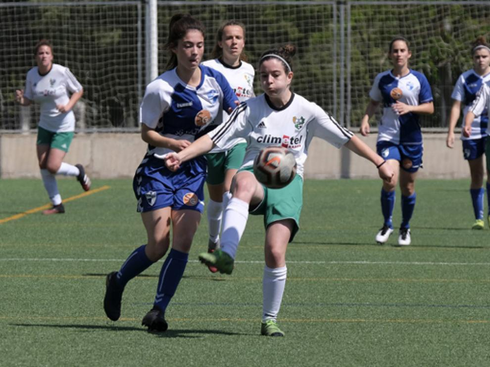 El Climetel Peñas hizo un buen partido ante el Ebro, pero no fue suficiente para puntuar.