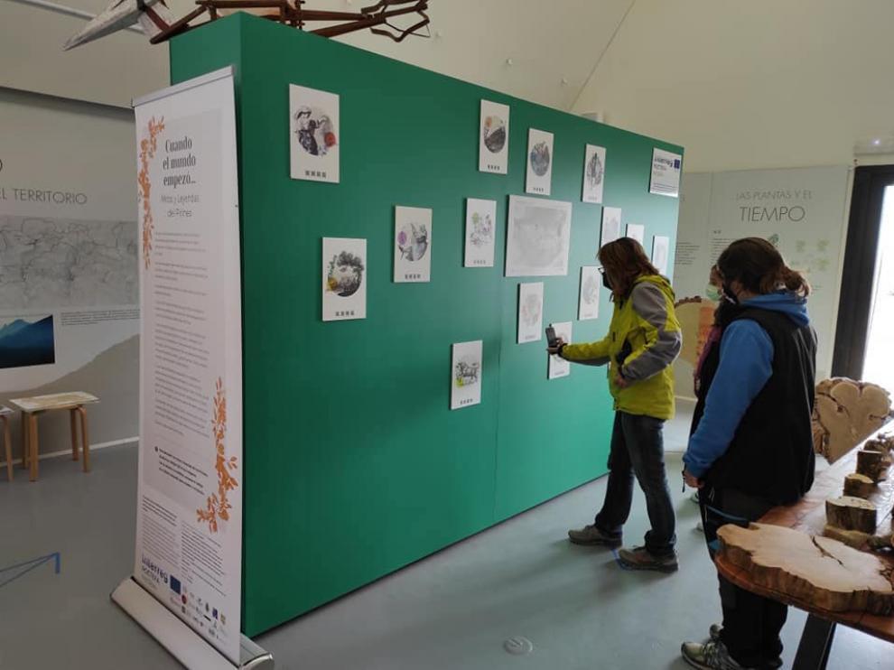 Exposición en el centro Espacio Salto de Roldán