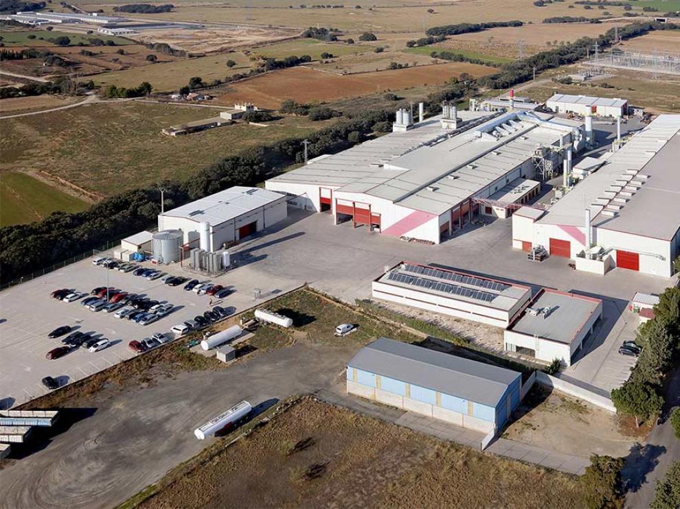 Factoria de Metalogenia en Monzón.