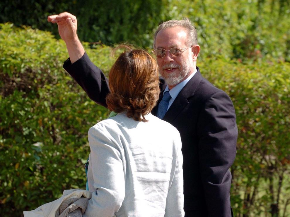 Amedeo de Aosta en 2004, cuando asistió a la boda de Don Felipe y Doña Letizia