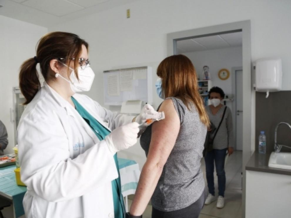La vacunación continúa a buen ritmo