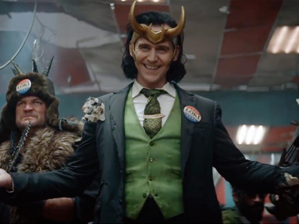Tom Hiddleston protagoniza 'Loki'.