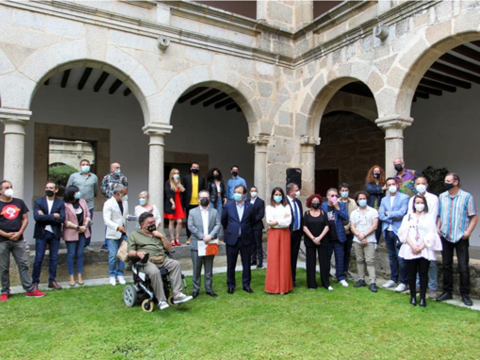Multitudinaria presentación del Festival de Mérida.