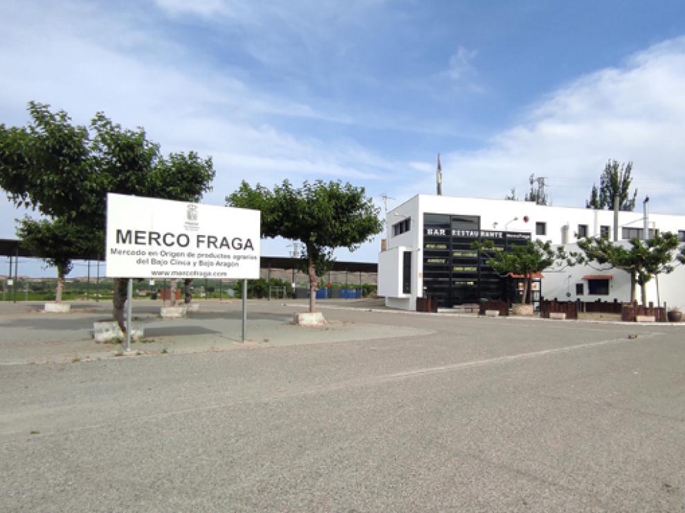 Exteriores del recinto de Mercofraga, que abre sus puertas este domingo.