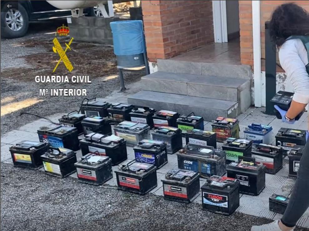 Imágenes de la operación de la Guardia Civil
