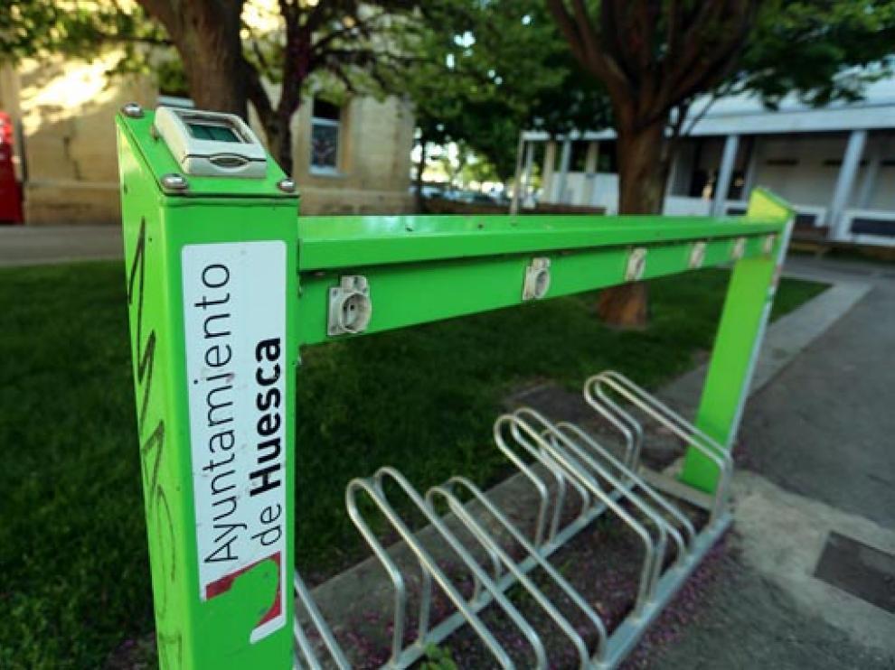 Imagen del cargador de bicicletas eléctricas