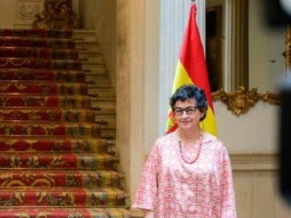 Ministra de Asuntos Exteriores González Laya