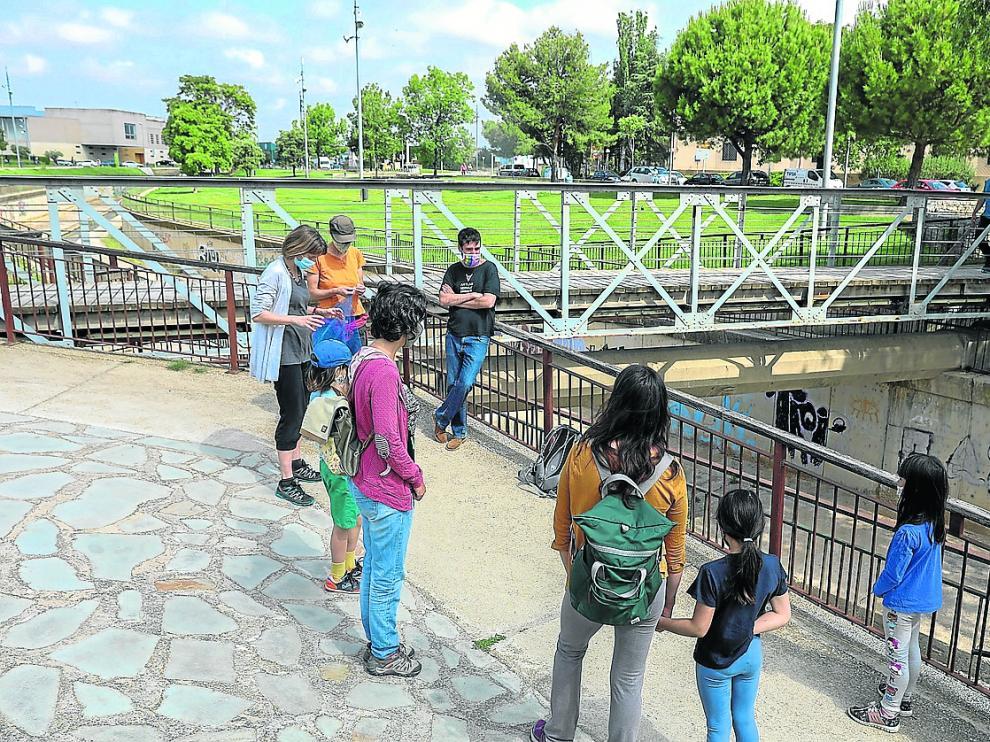 Una de las actividades organizadas por Ecologistas en Acción.