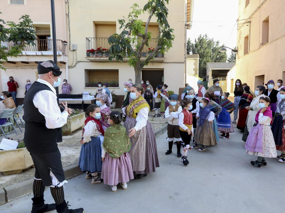 Plaza de Quicena.Festival jota escuela de Santa Cecilia./ 5-6-2021 / Foto Rafael Gobantes[[[DDA FOTOGRAFOS]]]