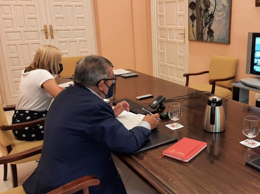 Junta de Seguridad para abordar el dispositivo de la Eurocopa en Cartuja.